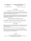 Văn bản hợp nhất 3211/VBHN-BVHTTDL