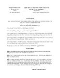 Quyết định 2092/QĐ-UBND năm 2013 tỉnh Sơn La