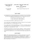 Quyết định 55/2013/QĐ-UBND tỉnh Nghệ An