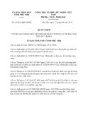 Quyết định 27/2013/QĐ-UBND tỉnh Gia Lai