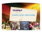 Bài giảng Marketing du lịch: Chương 6