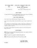 Quyết định 1622/QĐ-TTg năm 2013