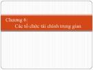 Bài giảng Lý thuyết tài chính tiền tệ: Chương 7 - GV. Phạm Thị Thùy Dung