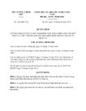 Quyết định 1625/QĐ-TTg năm 2013