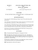 Quyết định 992/QĐ-BNV năm 2013