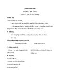Giáo án Tiếng Việt 3 tuần 12 bài: Chính tả - Nghe - viết: Chiếu trên sông Hương, phân biệt oc/ooc, tr/ch, at/ac