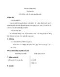 Giáo án bài Tập làm văn: Nói, viết về cảnh đất nước - Tiếng việt 3 - GV.N.Tấn Tài