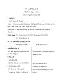 Giáo án bài Chính tả: Nghe, viết: Người liên lạc nhỏ - Tiếng việt 3 - GV.N.Tấn Tài