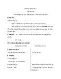 Giáo án bài TLV: Tôi cũng như bác, giới thiệu hoạt động - Tiếng việt 3 - GV.N.Tấn Tài
