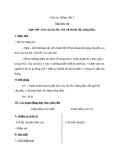 Giáo án Tiếng Việt 3 tuần 16 bài: Tập làm văn - Nghe - kể: Kéo cây lúa lên, nói về thành thị, nông thôn