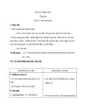 Giáo án bài Tập đọc: Anh đom đóm - Tiếng việt 3 - GV.N.Tấn Tài