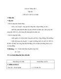 Giáo án bài Tập đọc: Mồ côi xử kiện  - Tiếng việt 3 - GV.N.Tấn Tài