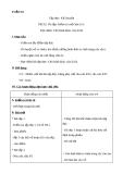 Giáo án bài Ôn tập cuối học kì 1 - Tiếng việt 3 - GV.N.Tấn Tài