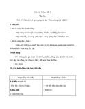 Giáo án bài Tập đọc: Báo cáo kết quả tháng thi đua - Tiếng việt 3 - GV.N.Tấn Tài