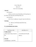 Giáo án bài Tập làm văn: Báo cáo hoạt động - Tiếng việt 3 - GV.N.Tấn Tài