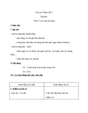 Giáo án bài Tập đọc: Nhà ảo thuật - Tiếng việt 3 - GV.N.Tấn Tài