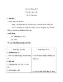 Giáo án bài Chính tả: Nghe, viết: Tiếng đàn - Tiếng việt 3 - GV.N.Tấn Tài