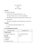 Giáo án Tiếng Việt 3 tuần 24 bài: Tập đọc - Tiếng đàn