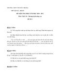 15 Đề kiểm tra HK2 Vật lí  (Kèm Đ.án)