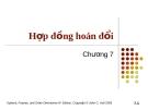Bài giảng Tài chính phái sinh: Chương 7 - Hợp đồng hoán đổi