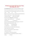 Đề thi học kì 2 môn Ngữ Văn Lớp 8 Năm 2014 Đồng Nai - Đề 1