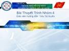 Bài thuyết trình bộ môn Tư tưởng Hồ Chí Minh: Phần II - CĐ Công thương TP. HCM