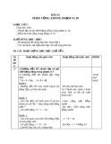 Giáo án Toán 1 chương 2 bài 15: Phép cộng trong phạm vi 10