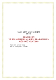 SKKN: Tham luận về đổi mới phương pháp dạy học và kiểm tra đánh giá môn Ngữ Văn THCS