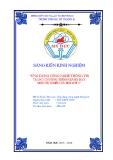 SKKN: Ứng dụng CNTT trong  chương trình giảng dạy môn Tự nhiên xã hội lớp 3