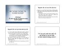 Bài giảng Hệ thống thông tin doanh nghiệp: Chương 2