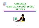 Bài giảng Nguyên lý kế toán: Chương 4 - Nguyễn Kim Nam