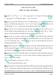 Đề cương ôn tập môn Vật lý lớp 10: Động lực học chất điểm