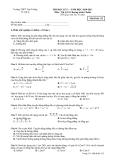 Đề và đáp án kiểm tra học kì I môn Vật lý lớp 10 năm học 2010 - 2011 - Trường THPT Vạn Tường - Mã đề 132