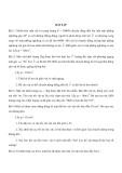 60 bài tập tự luận môn Vật lý lớp 10