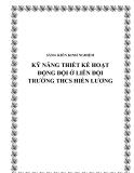 SKKN: Kỹ năng thiết kế hoạt động Đội tại Liên đội trường THCS Hiền Lương