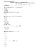 2 đề thi học kì 1 Toán 8 - (Kèm Đ.án)