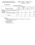 Đề kiểm tra 1 tiết môn Toán 6 (Kèm đáp án)