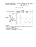 Đề kiểm tra 1 tiết Toán 6 - THCS Huỳnh Thúc Kháng (2011-2012) (Kèm đáp án)