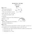 Đề kiểm tra 1 tiết HK2 môn Toán lớp 9 - (Kèm đáp án) đề số 29