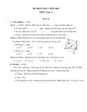 Đề kiểm tra 1 tiết HK2 môn Toán lớp 9 - (Kèm đáp án) đề số 79