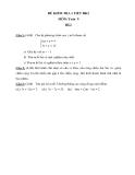 65 Đề kiểm tra 1 tiết HK2 Toán 9 - (Kèm đáp án)