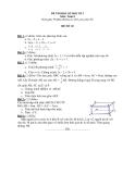 6 Đề thi học kì 2 môn Toán 8 - (Kèm theo đáp án)
