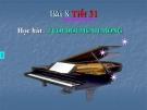 Bài giảng bài 8: Học hát: Tuổi đời mênh mông - Âm nhạc 8 - GV:T.K.Ngân