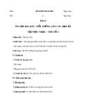 Giáo án Âm nhạc 8 bài 6: Tập đọc nhạc: TĐN số 6
