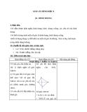 Giáo án Hình học 8 chương 1 bài 2: Hình thang