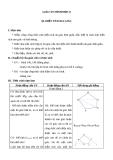 Giáo án Hình học 8 chương 2 bài 6: Diện tích đa giác