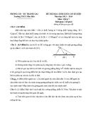 Đề thi HSG cấp huyện Vật lý 7 (2013 - 2014) trường THCS Dân Hoà - (Kèm Đ.án)