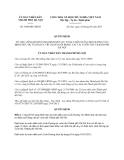 Quyết định 5486/QĐ-UBND năm 2013