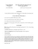 Quyết định 4183/QĐ-UBND năm 2013