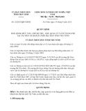 Quyết định 32/2013/QĐ-UBND tỉnh Trà Vinh